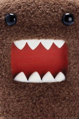 Framed Extreme Close Up - Domo