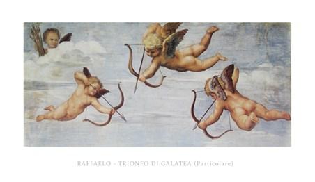 Trionfo Di Galetea - Raffaello Sanzio Raphael