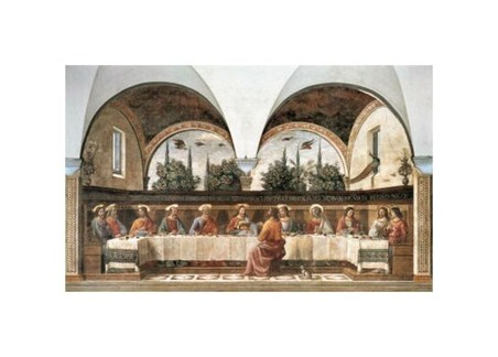 The Last Supper - Domenico Ghirlandaio