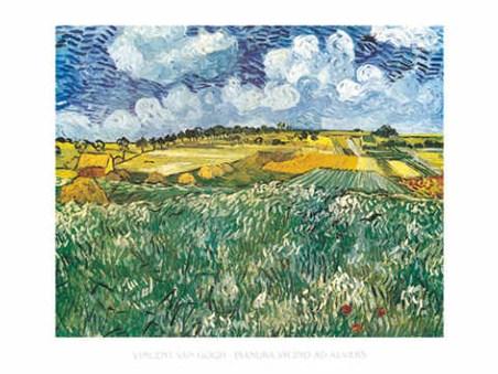 Pianura Vicino ad Auvers - Vincent Van Gogh