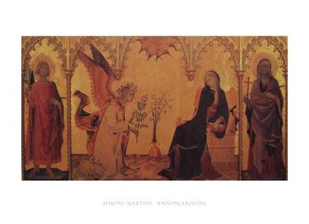 The Annunciation - Simone Martini
