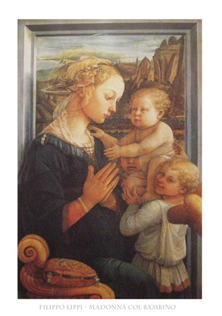 Madonna with Child - Filippo Lippi