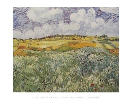 Plains Near Auvers - Vincent Van Gogh