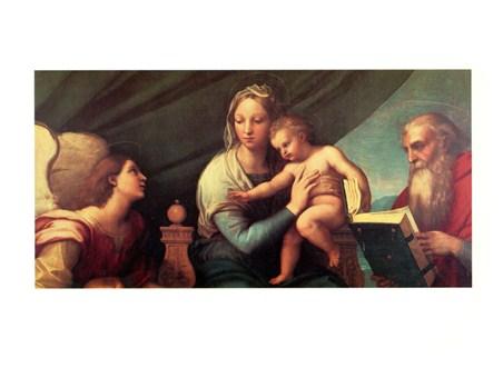 Madonna Del Pesce - Raffaello