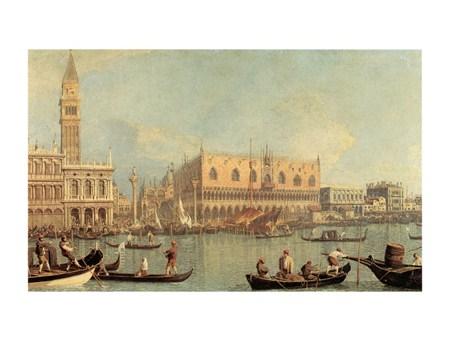 Veduta Del Palazzo Ducale - Canaletto