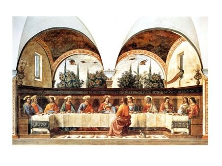 L'ultima Cena - Domenico Ghirlandaio