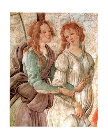 Venere Offre Doni (Particolare) - Sandro Botticelli