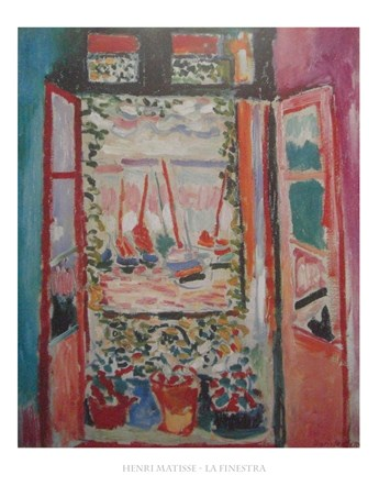 The Window - Henri Matisse