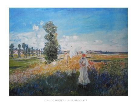La Passeggiata - Claude Monet