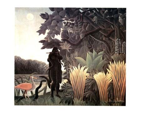 Incantatrice Di Serpenti - Henri Rousseau
