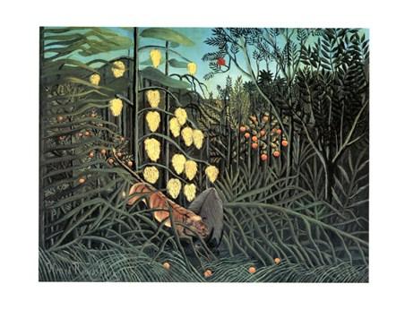 Giungla Con Bufalo Assalito Da Una Tigre - Henri Rousseau