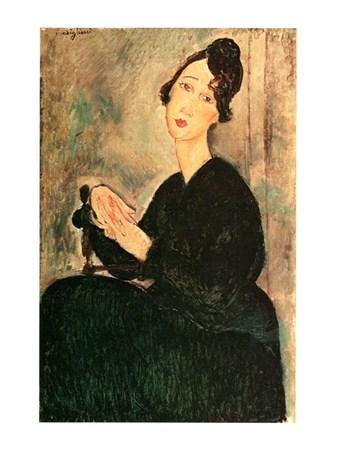 Ritratto Di Dedie - Amedeo Modigliani
