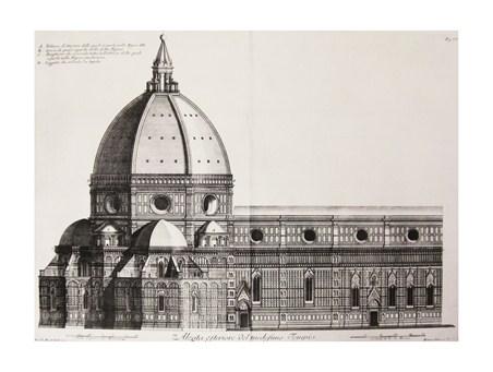 Spaccato Del Duomo E Della Cupola - B Sgrilli