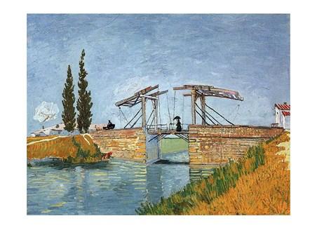 The Langlois Bridge - Vincent Van Gogh