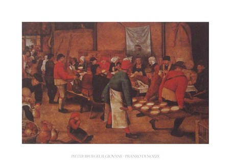The Peasant Wedding - Pieter Bruegel