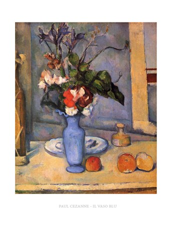 The Blue Vase - Paul Cezanne