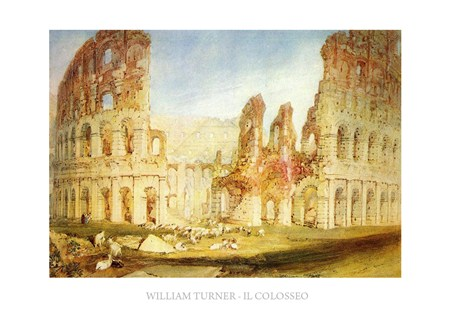 Framed The Colosseum - William Turner