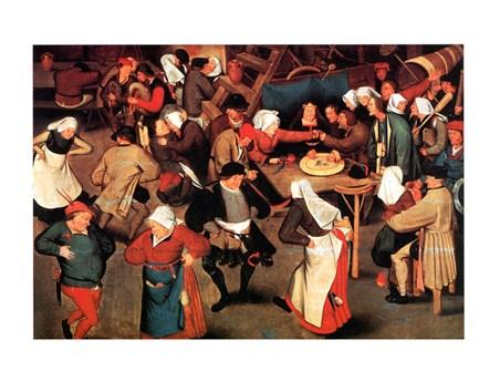 Nozze Di Contadini - Pieter Bruegel Il Vecchio