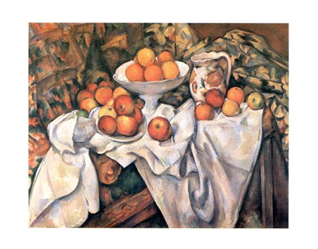 Mele ed Arance - Paul Cezanne