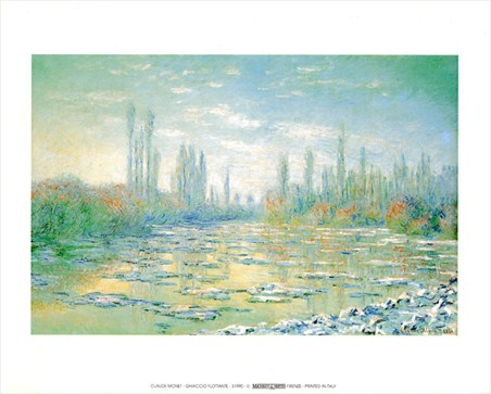 Floating Ice - Claude Monet