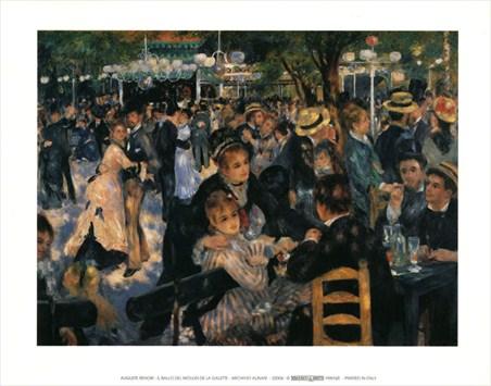 Il Ballo Del Moulin De La Galette - Auguste Renoir