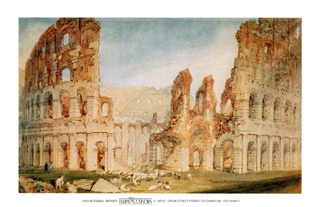 Il Colosseo - Joseph Mallord William Turner