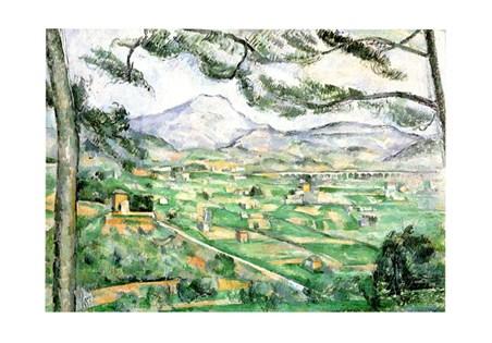 La Montagna Di Sainte-Victoire - Paul Cezanne