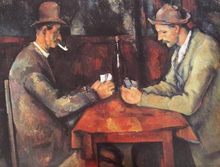 Card Players - Paul Cezanne