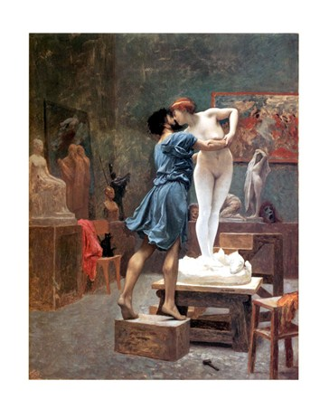 Pygmalion And Galatea - Jean Leon Gerome