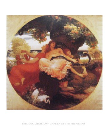 Garden of the Hesperides - Frederic Leighton