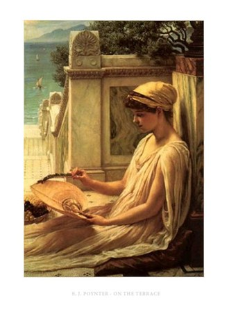 Framed On the Terrace - Edward Poynter