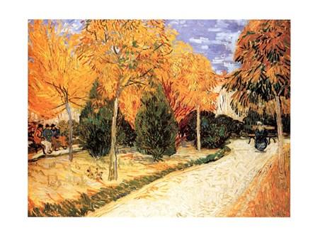 Giardino Autunnale - Vincent Van Gogh