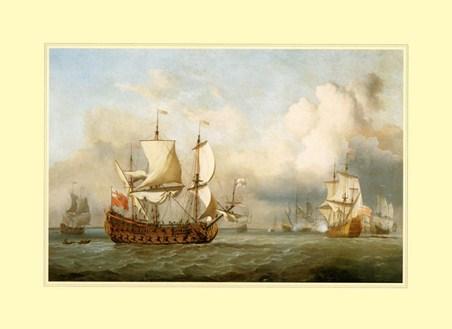 The Ship ' English Indiaman' - Antonio Jacobsen