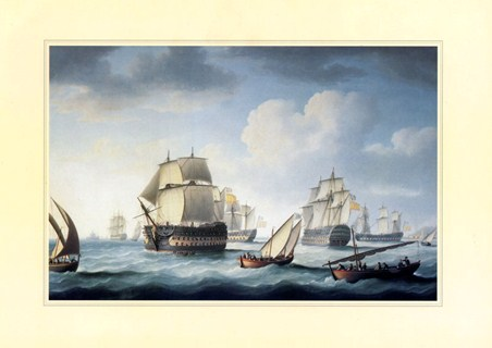 The Battle Of Trafalgar - Naval Warfare
