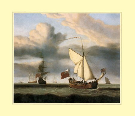 The Yacht 'Royal Escape' - Willem van de Velde