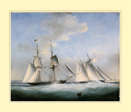 The Ship 'Water Witch' - High Seas Beauty
