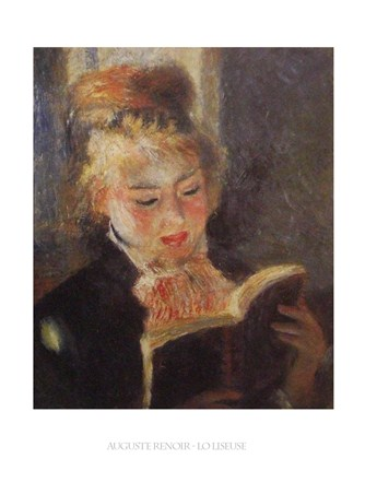 Framed Reading - Auguste Renoir