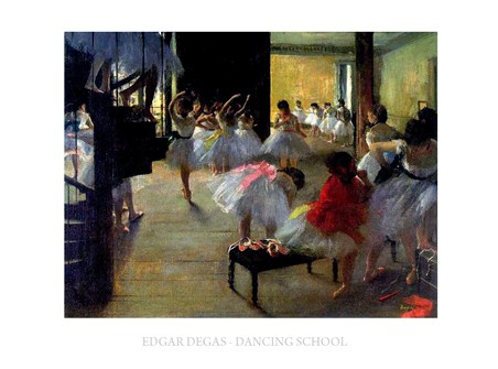 Dancing School - Edgar Degas