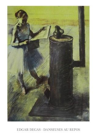 Dancer at Rest - Edgar Degas