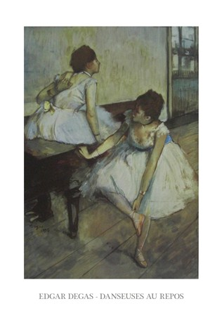 Dancers at Rest - Edgar Degas