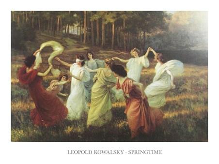 Springtime - Leopold Kowalsky