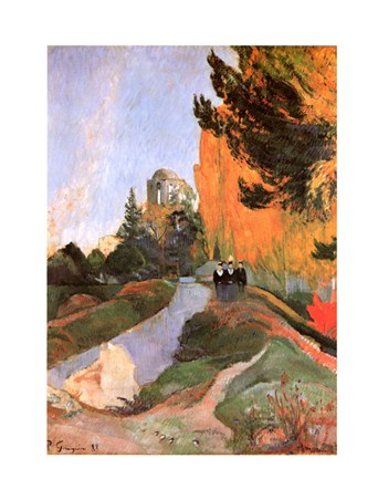 Les Alyscamps - Paul Gauguin