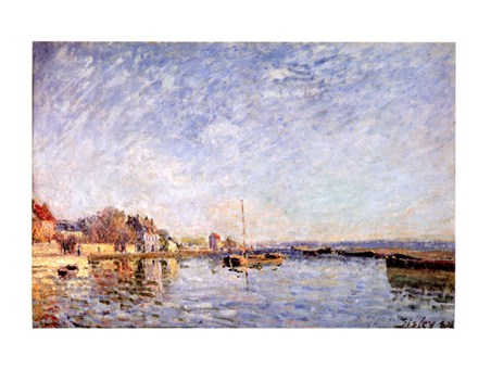 Canal Du Loing, Alfred Sisley