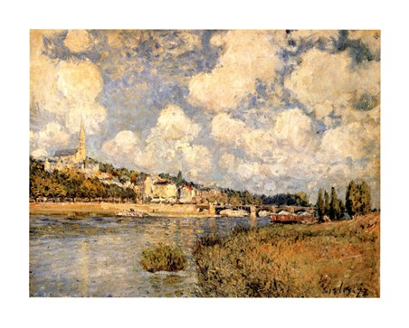Sainte Cloud - Alfred Sisley