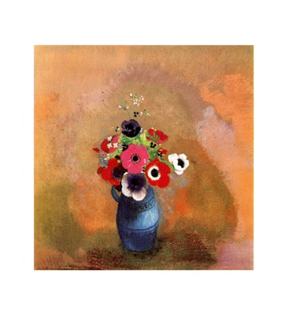 Bouquet of Anemones - Odilon Redon