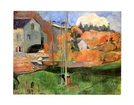 Paysage De Bretagne - Paul Gauguin