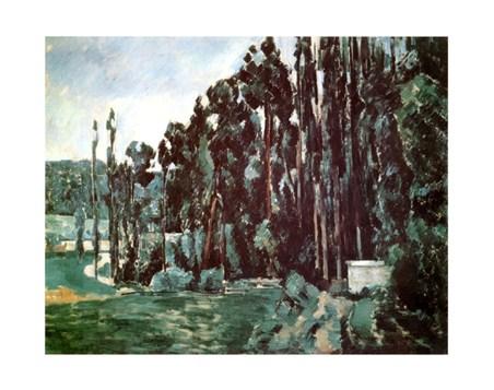 Poplars - Paul Cezanne