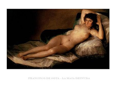 La Maja Desnuda - Francisco Goya