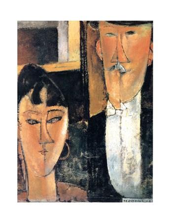Gli Sposi - Amedeo Modigliani
