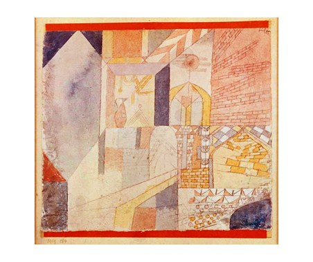 Architecture with Pitcher - Paul Klee